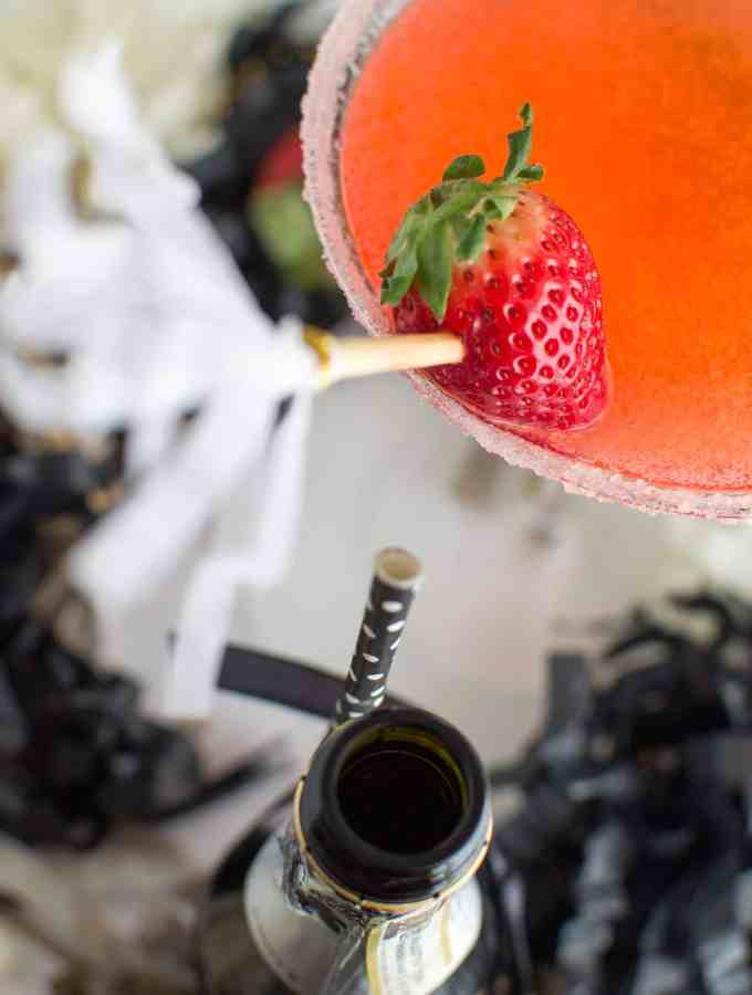 Sparkling Strawberry Martini