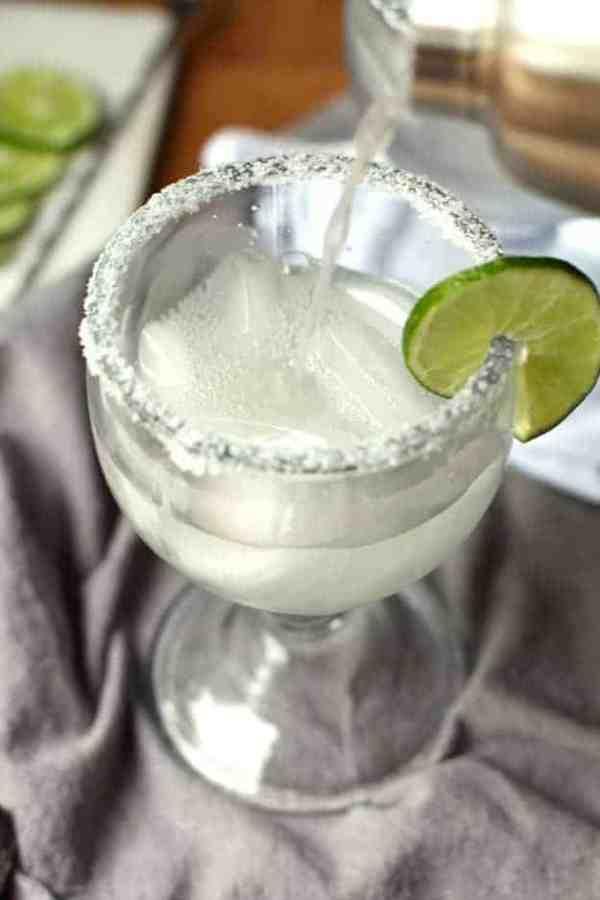Classic Skinny Margarita