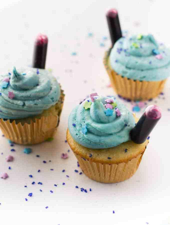 Zootopia Nighthowler Cupcakes