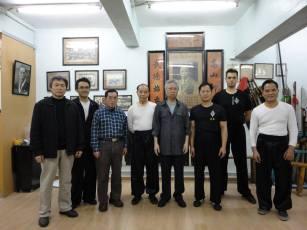 Тренування в школі гранд-майстра Лам Чо. Гонконг.