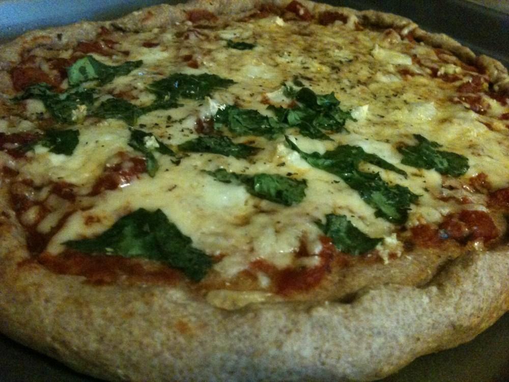 Whole-Wheat Pizza -- No Yeast Necessary (5/6)