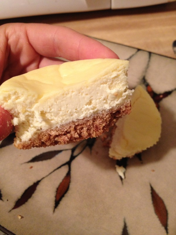 Healthy Greek Yogurt MiniCheesecake Recipe hungry and fit