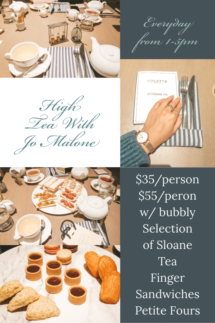 High Tea with Jo Malone