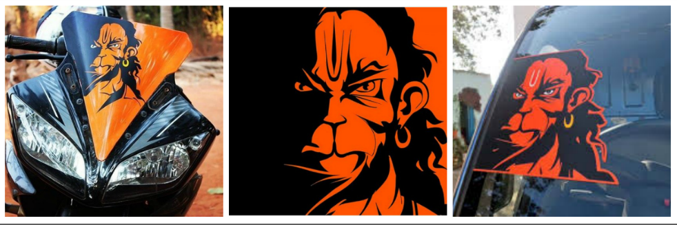 Karan Acharya ~ The Man Behind Angry Hanuman Poster Which Has Flooded The Entire Nation