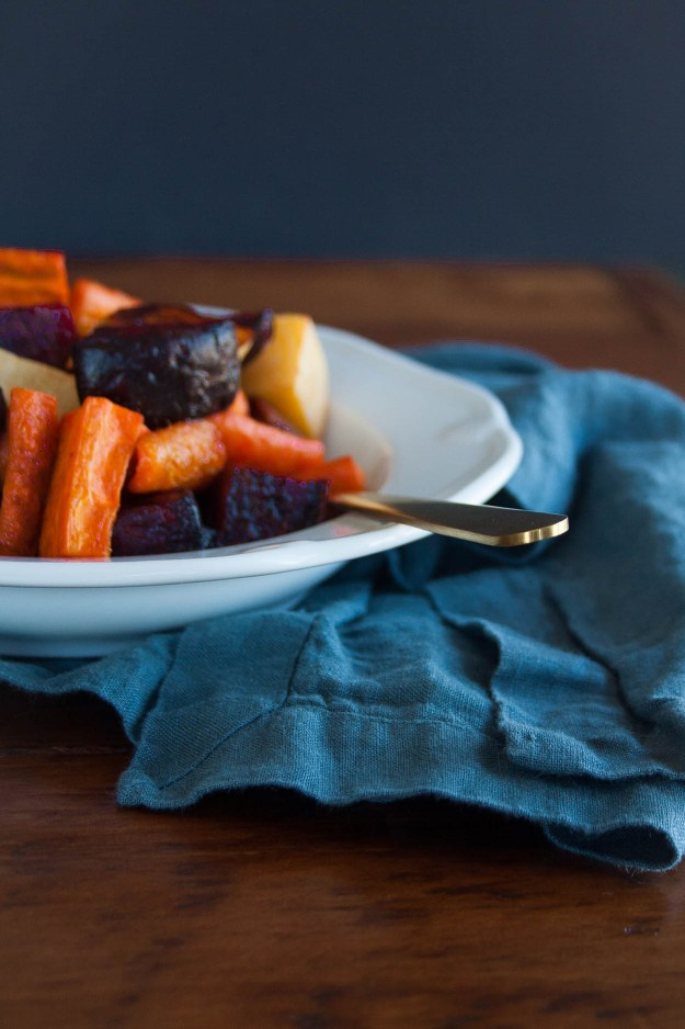 Rainbow Roasted Root Vegetables from The Autoimmune Paleo Cookbook   recipe, AIP, paleo, side dish, healthy, easy   hungrybynature.com
