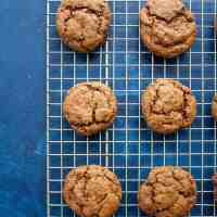 Chewy Molasses Cookies (AIP & Vegan!)