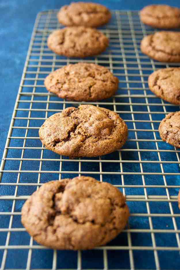 AIP Chewy Molasses Cookies | #aip #paleo #autoimmunewellness #holiday #cookies | hungrybynature.com