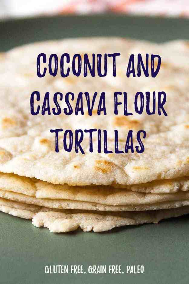 Coconut and Cassava Tortillas | #recipe #easy #grainfree #glutenfree #paleo #breakfast #tacos | www.hungrybynature.com