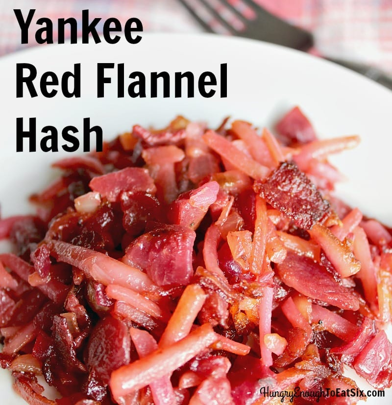 Yankee Red Flannel Hash