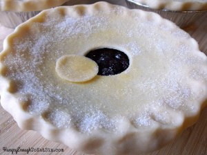 For all the ways in which blueberries taste amazing, I think they are at their best when filling a pie to the brim.