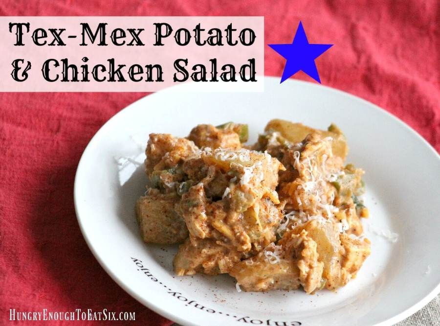 Tex Mex Potato & Chicken Salad