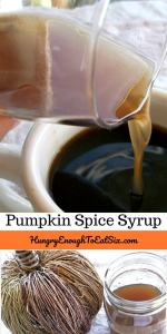 Pumpkin Spice Syrup, for Coffee, Lattes & Tea! This syrup is an easy way to add tantalizing fall flavor to your drinks.