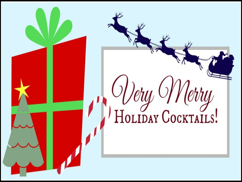 Very Merry Holiday Cocktails! at HungryEnoughToEatSix.com
