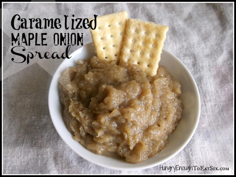 Caramelized Maple Onion Spread