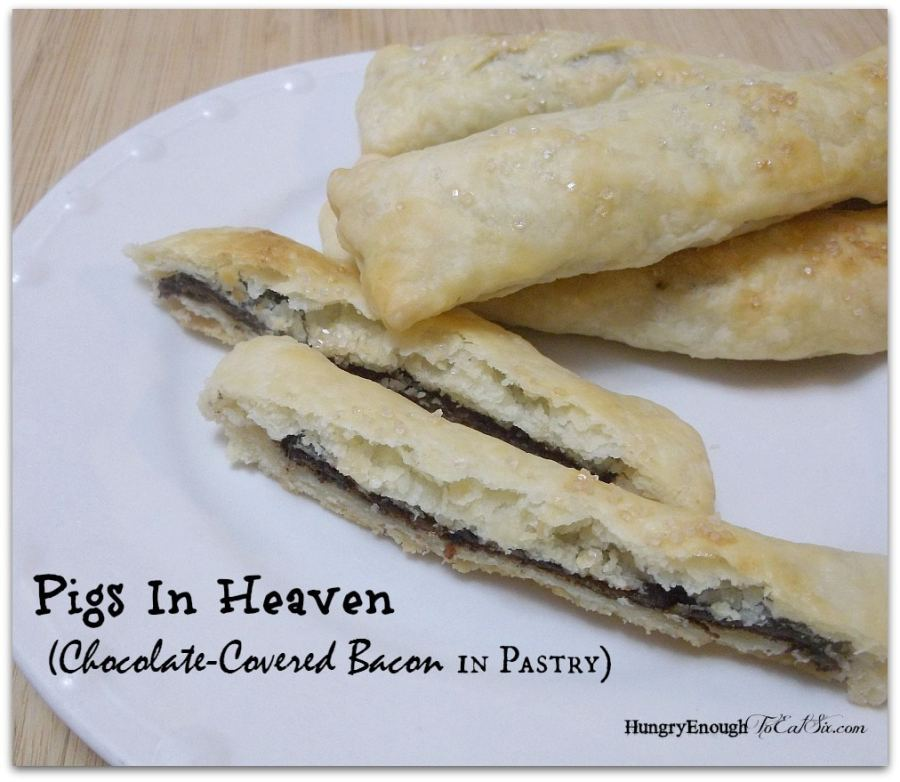 Chocolate-Covered Bacon in Pastry
