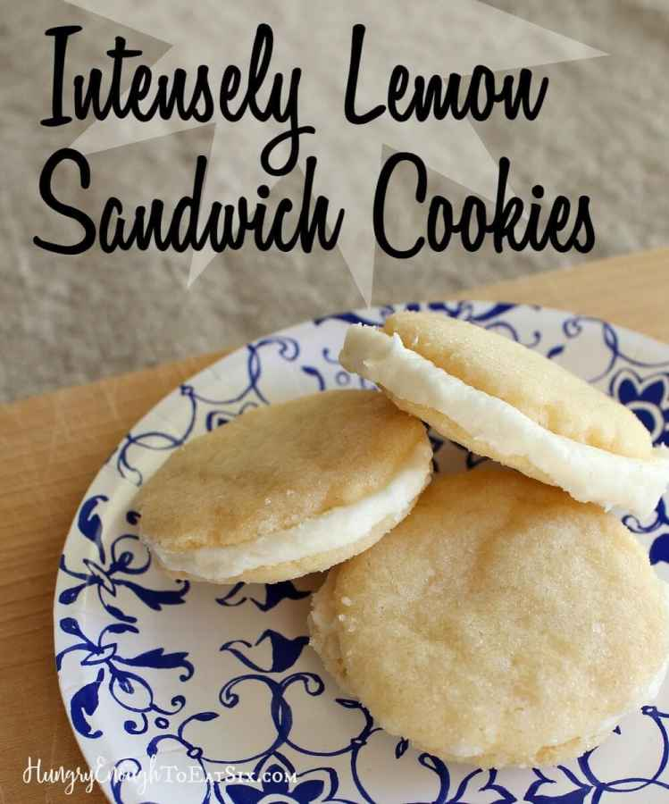 These little sandwich cookies hold a sweet, strong, and delightfully tart filling.