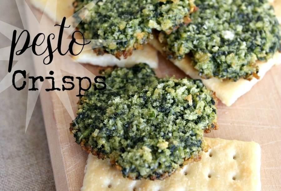 Pesto Crisps