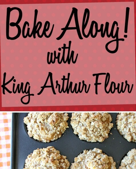 Have you heard of the newest baking challenge from King Arthur Flour? BakeAlong is their monthly call to bake up something delicious and impressive!