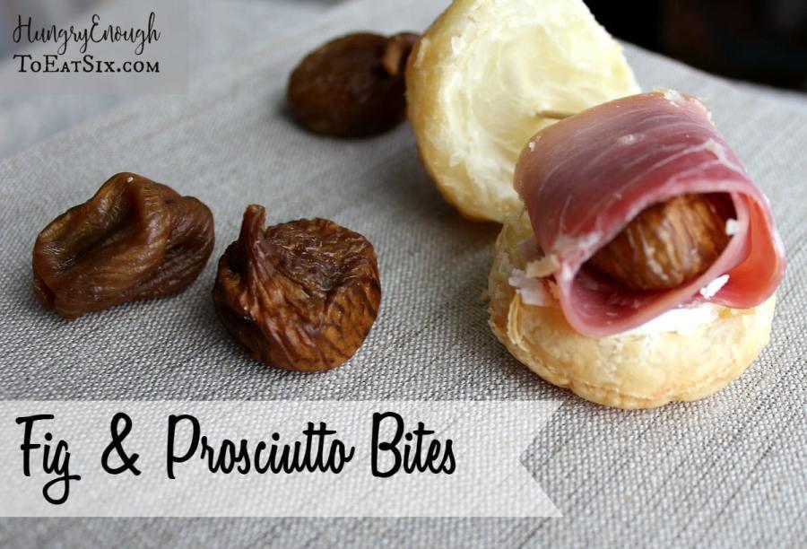 Fig & Prosciutto Bites