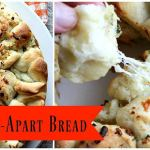 This snacking bread is loaded with gooey cheeses and rich, buttery garlic flavor!