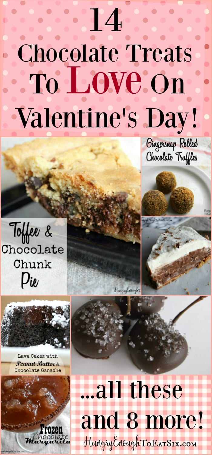 14 decadent, sweet and indulgent chocolate recipes to share with your Valentine!