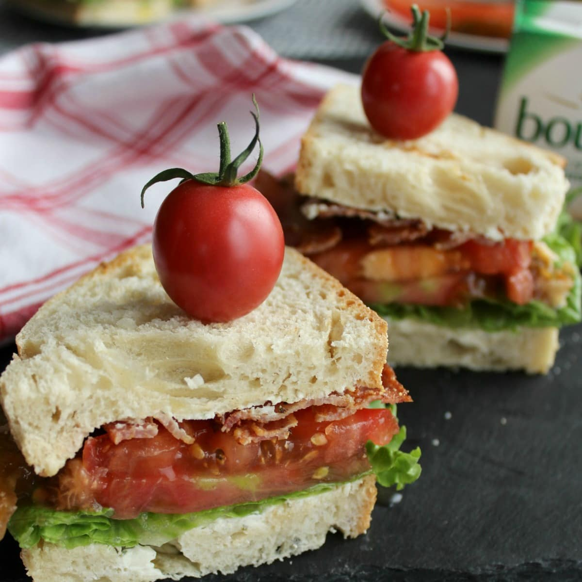 Take advantage of the season's best, flavorful tomatoes to make the best BLT. And there are two variations to try!