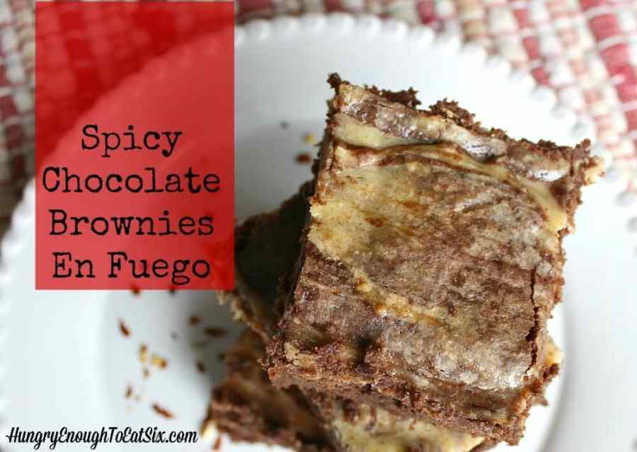 Spicy Chocolate Brownies En Fuego