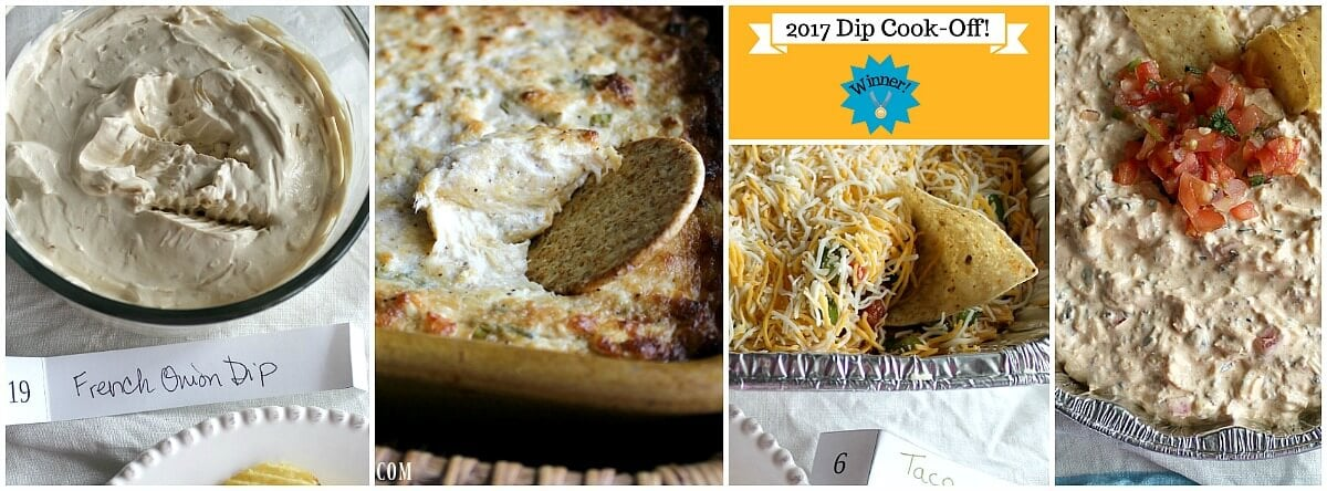 The Dip Cook-Off: Our Latest Cook-Off Challenge! Our latest cook-off theme was Dips! A whole range of savory dips, hot dips, cold dips, even a sweet dip. But which dips took home the gold? Check out this post and see!