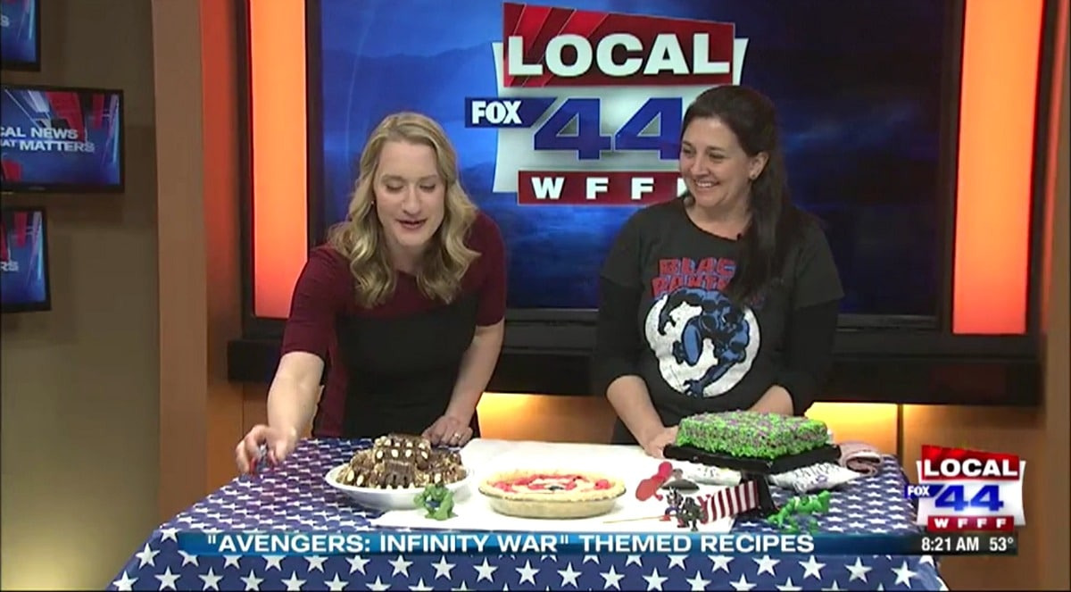Assemble the treats! Sweet desserts inspired by characters from the Avengers movies!