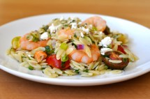 Ina Garten Orzo Salad with Shrimp