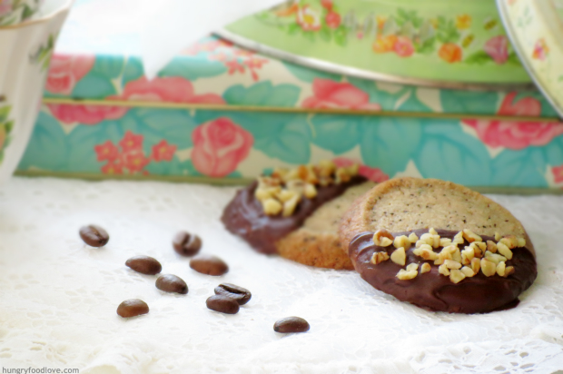 The BEST Coffee Short Bread Cookies