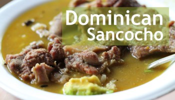 La bandera dominicana the dominican flag hungry food love how to make sancocho in 1 hour forumfinder Choice Image