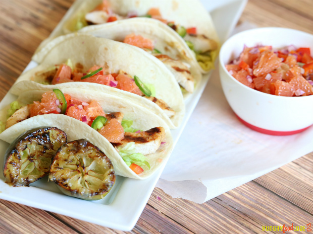Chicken Citrus Tacos   |   @hungryfoodlove