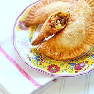 Fajita Style Veggie Empanadas