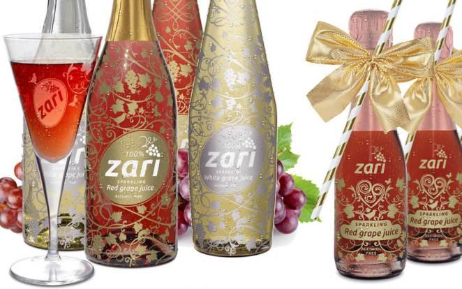 ZARI Sparkling grape juice – Celebrate Openings!