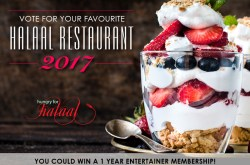 VOTE for your favourite restaurant for 2017 and WIN!