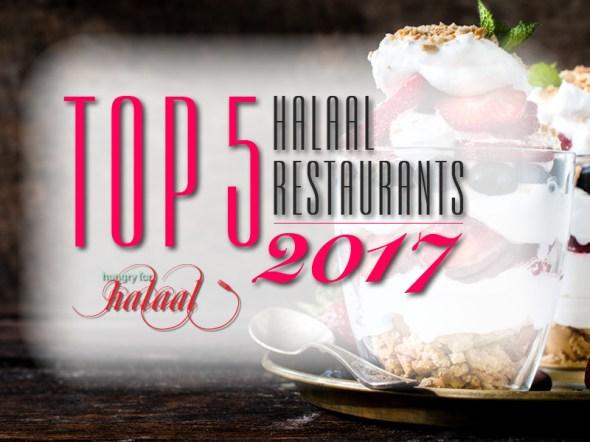 Top 5 Restaurants banner 2017