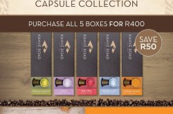 Special Offer on Curated Coffee Capsule Selection from Kahvé Road