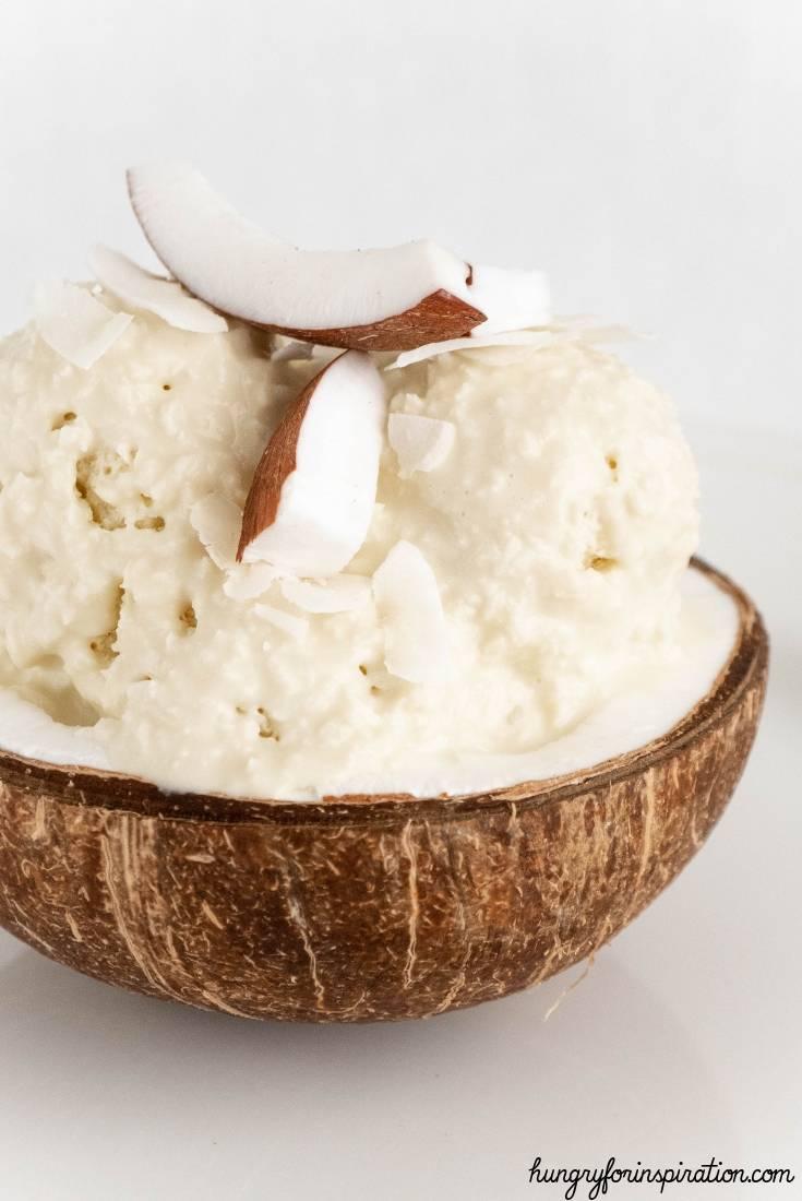 Egg Fast Vanilla Frozen Ice Cream