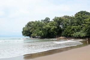 Batu Karas Java Indonesien Strand