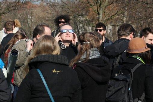 Sonnenfinsternisbrille