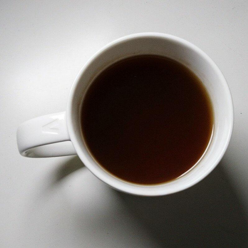 Tasse mit Tee