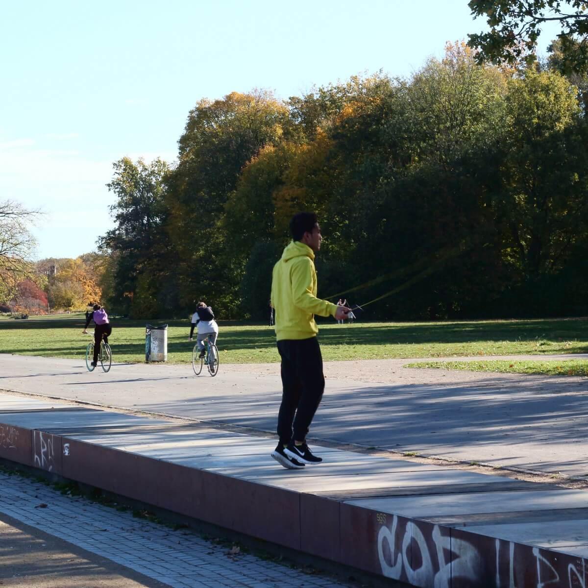 Sport im Treptower Park