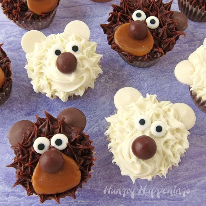 Easy Cupcake Decorating Learn How To Make Adorably Cute Bear Cupcakes