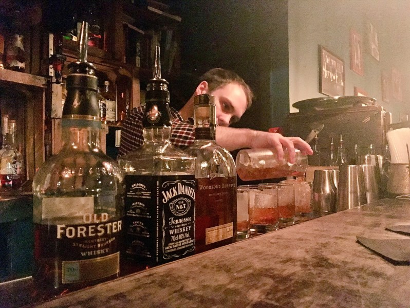 Whiskey tasting at Berry and Rye Liverpool