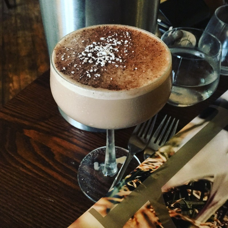 Chocolate cocktail at Piste Tarporley