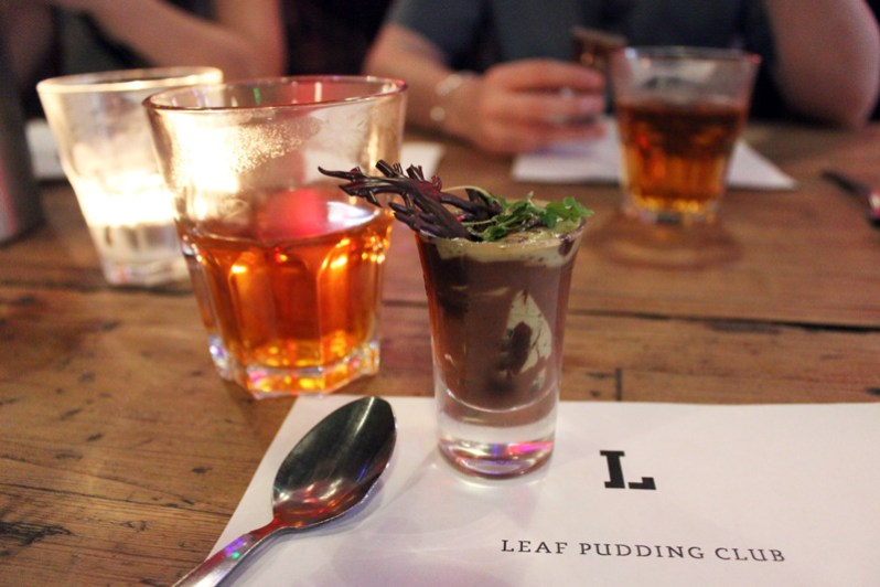 Pudding Club at Leaf Cafe Liverpool Bold Street