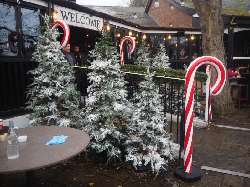 Hickorys Smokehouse Chester Christmas menu 2017
