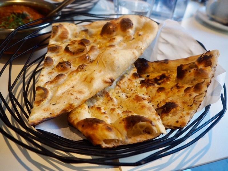 Garlic naan bread recipe Rumi Liverpool