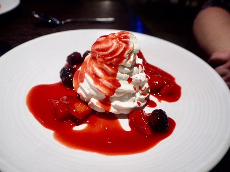 Brasserie Blanc dessert menu